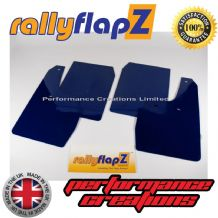 FIESTA ST150 (2002-2008) Inc Zetec S PERFORMANCE BLUE MUDFLAPS